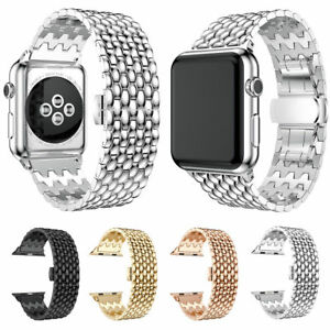 Replace-Band-Strap-Bracelet-Bangle-Stainless-Steel-For-Apple-Watch-Series-1-2-3