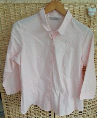 BNWT M/&S COLLECTION LADIES  TOP  SIZE 16 PURE COTTON Tropical Palm