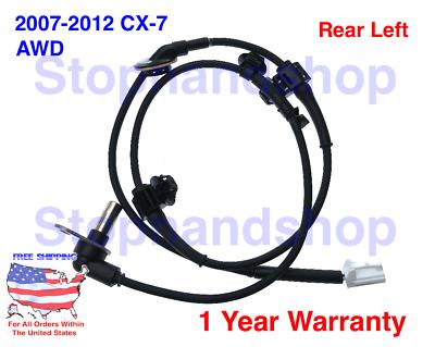 NEW ABS WHEEL SPEED SENSOR FIT 2007-2012 Mazda  CX-7 AWD Rear Right Passenger