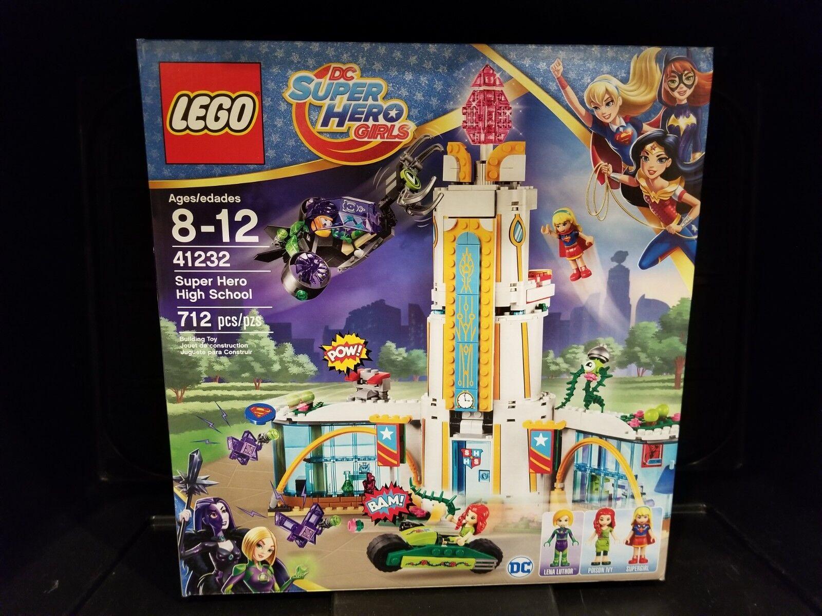 Lego 41232-DC Super Hero Filles Super Hero High School-Neuf en boîte scellée