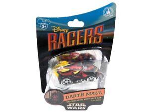 Disney-Parks-Disney-Racers-Darth-Maul-Star-Wars-Die-Cast-Vehicle-Race-Car-NRFB