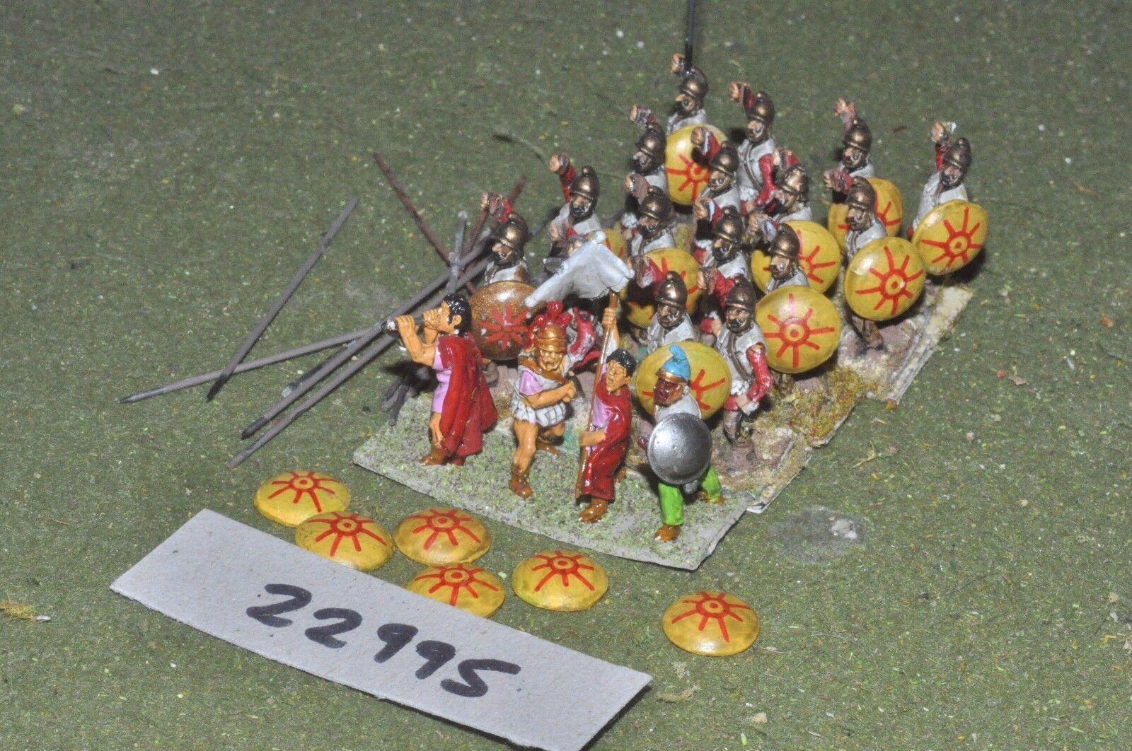 25mm classical   macedonian - pikemen 20 figures - inf (22995)