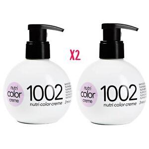 Revlon-Nutri-Color-Conditioning-Creme-1002-WHITE-PLATINUM-270ml-BALL-X2
