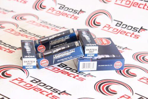 NGK SPARK PLUGS BKR7EIX IX Iridium Plug Set of 4 2667