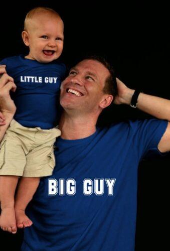 Little Guy T-Shirt SET Multiple Sizes Scren Printed Big Guy