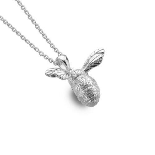 Details about  /Large Bumblebee Pendant Necklace Sterling Silver 925 Hallmark All Chain Lengths