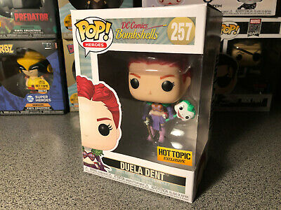 Duela Dent 257 Vinyl w//Case Hot Topic Funko Pop DC Comics Bombshells