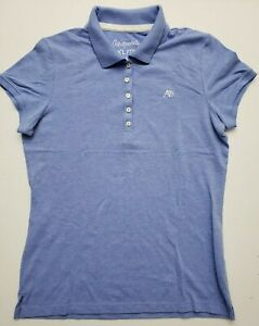 d44d114a5 Aeropostale women's polo shirt size XL Extra Large Blue Embroidered ...