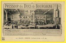 cpa Bourgogne CHENÔVE PRESSOIR du ROI Vendanges Vins raisins POIDS dit MARGOT