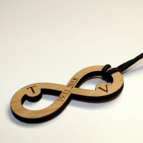 einseitige Gravur Holz Schlüsselanhänger individuell graviert Valentinstag