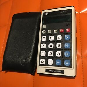 Commodore-GL-998D-Taschenrechner-70er-Digital-Tasche-Japan-Limited