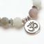 miniature 25 - Crystal Gemstone Bead Bracelet Chakra Natural Stone Reiki Healing Anxiety Stress