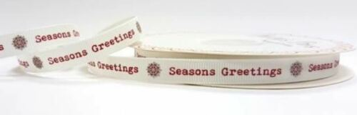 Bertie/'s Bows Christmas Ribbon on 3m /& 25m Rolls