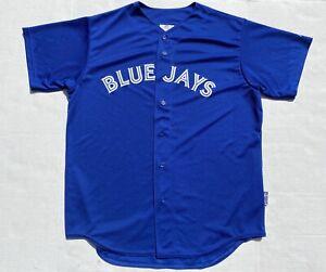 Toronto-Blue-Jays-Majestic-MLB-Baseball-Cool-Base-USA-Made-Mens-Jersey-Sz-XL