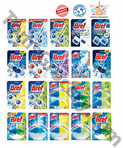 Bref Wc Toilet Hangers Cleaners Rim Blocks Clean Fresh