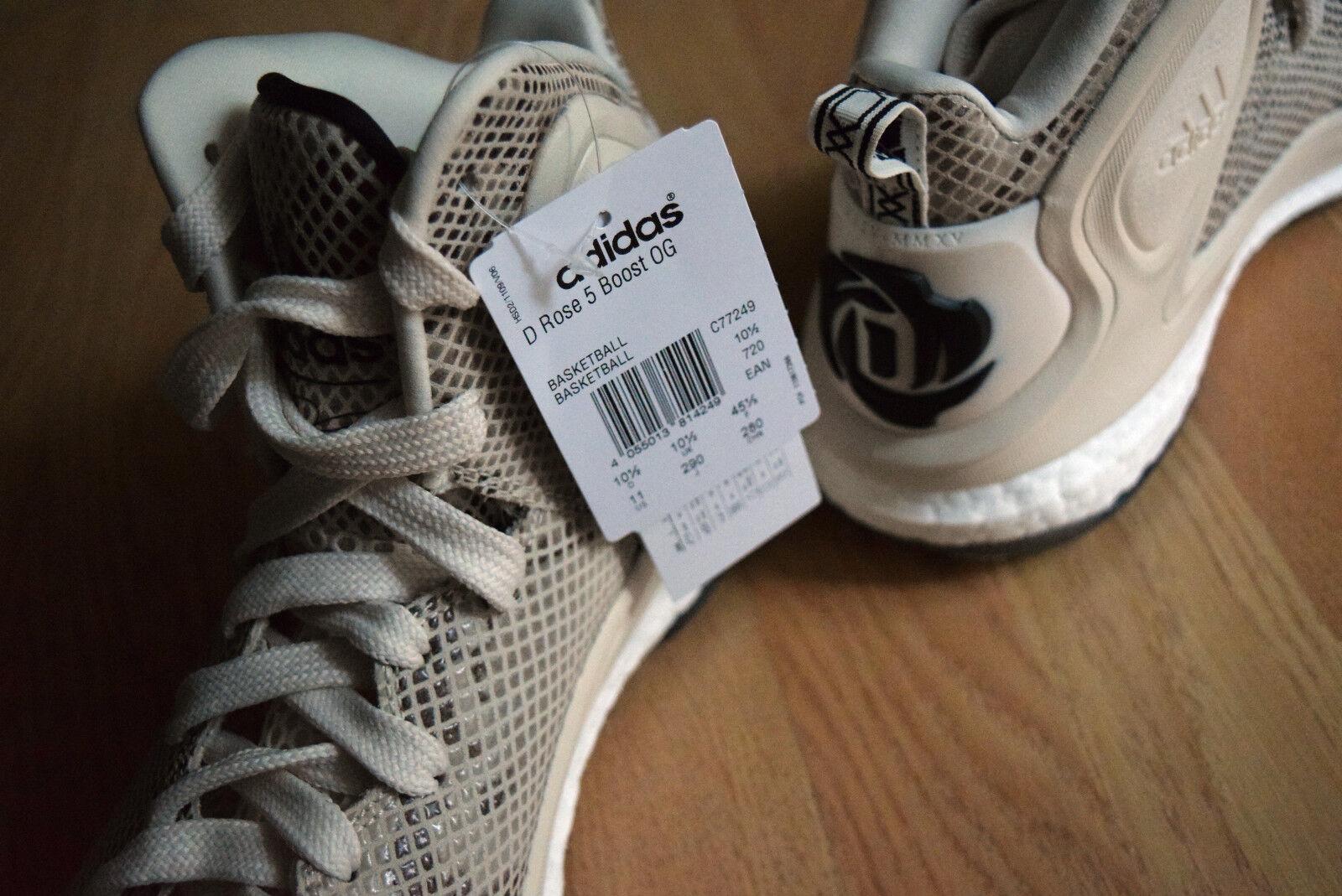 pretty nice 23767 8eb79 adidas D Rose 5 Boost OG 41 44 45 46 48 5 49 Basketball Adizero Crazy Light  45 for sale online   eBay