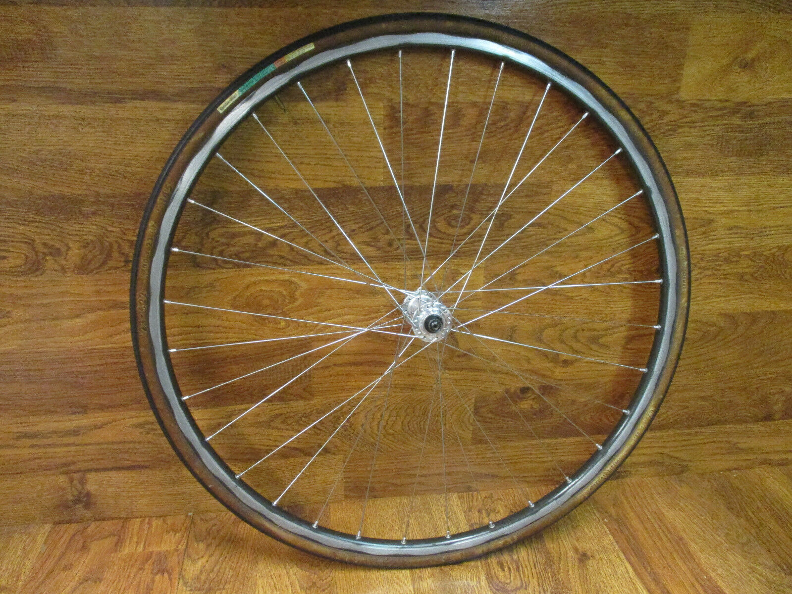 VINTAGE CAMPAGNOLO RECORD 32H MAVIC  700C CLINCHER FRONT WHEEL - BRONZE  buy best