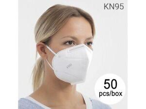 Mascarilla de Protección Respiratoria KN95 FFP2 (Pack de 50) - Máscara Facial