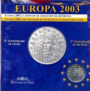FRANCE  FRANCIA  EUROPA  2003  1/4  EURO  ARGENTO - BU