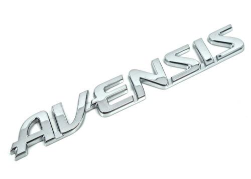 Genuine New Toyota Avensis Hayon Badge Coffre arrière Emblème Pour Avensis 2008+