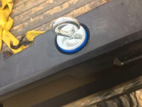 Bed Tie Downs aka Twist Lock Anchors Polaris Ranger 400-800 4 PACK