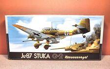1/72 FUJIMI Ju-87 STUKA G-2 KANONENVOFEL MODEL KIT # 7A-F17-800