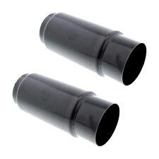 Shorty Exhaust Racing Mufflers 8 X 3 Inch 2 Pack