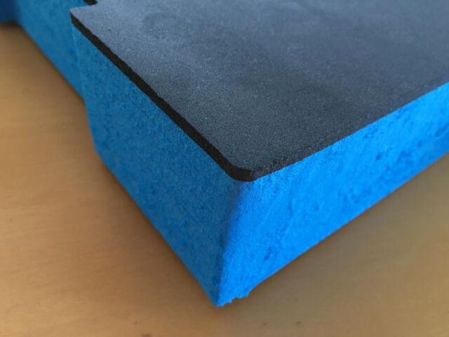 Koffereinlage aus Hart-Schaumstoff für Sortimo L-//LT-BOXX anthrazit-rot 30 mm