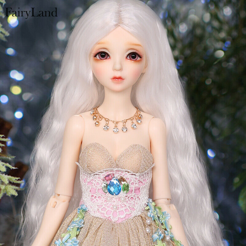 1 4 BJD Doll SD Doll FL- Eva Open Eyes Girl -Free Face Make UP+Free Eyes