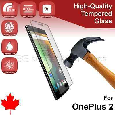 OnePlus 2 Premium Tempered Glass Screen Protector from Canada