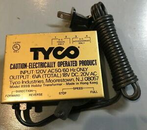 Tyco-Model-899B-HO-Scale-Train-Power-Control-Transformer-Hobby-Power-Supply