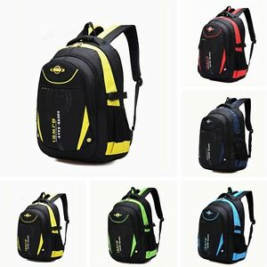 Image is loading Waterproof-Children-School-Bags-Girls-Boys-Travel-Backpack- 20e508d3ff0f4