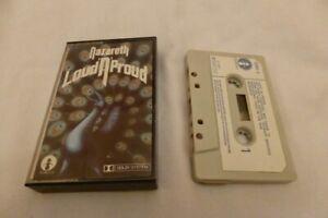 NAZARETH-LOUD-N-PROUD-MOONCREST-1973-EX-VG-Music-Cassette