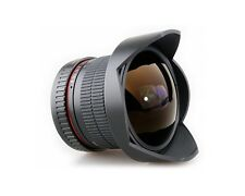 Superweitwinkel Objektiv Fish-eye Samyang 8mm f3,5 CSII mit Sony Alpha Anschluss