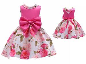 Kids-Girls-Formal-Fancy-Princess-Pageant-Wedding-Bridesmaid-Dress-K62