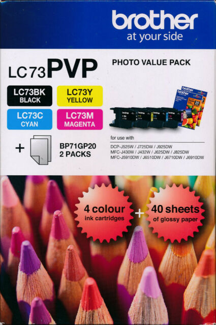 Brother LC-73 Photo Value Pack Genuine (LC-73PVP)