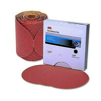 3M 01104 Stikit Red Finishing Film Abrasive Disc P1000 6in 25 Sanding Discs 260L