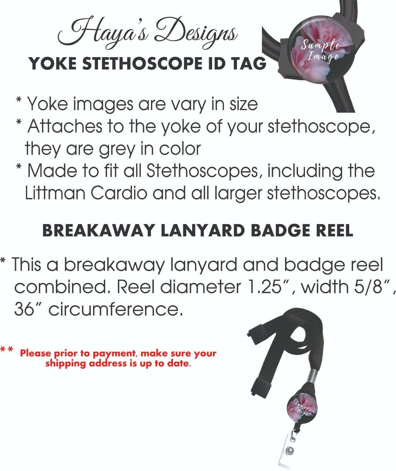 Balloon Character Badge Reel, Retractable ID Badge, Stethoscope ID Tag