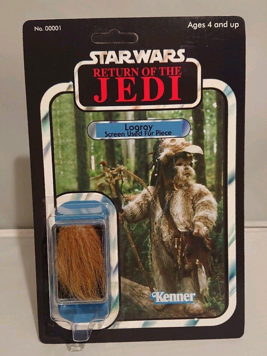 wholesape barato Raro Estrella Wars Logris Ewok Piel de de de utilería utilizados de pantalla Como Nuevo MOC Estilo Vintage Personalizado  promociones de descuento