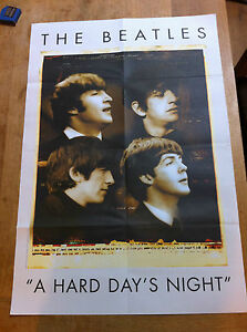 The-Beatles-MOJO-Magazine-POSTER-A-Hard-Days-Night-brand-new-lp-cd-7-12