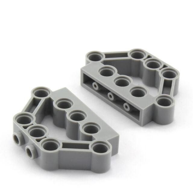 10 x Lego Technic Winkel-Verbinder Achse Pin schwarz NEU 92907