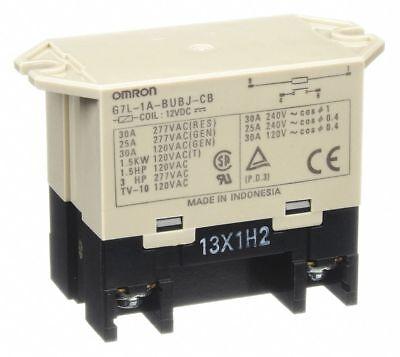 24VDC 6-Pin Bottom Flange Enclosed Power Relay G7L-2A-TUBJ-CB-DC24 1YCZ4