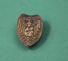 Ryngraf - patriotic gorget of God Mother with White Polish Eagle Badge Poland  B
