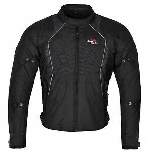 Mens-Moto-Chaqueta-De-Verano-Textil-Cordura-Impermeable-Moto-CE-las-cotas-de-malla-Reino-Unido