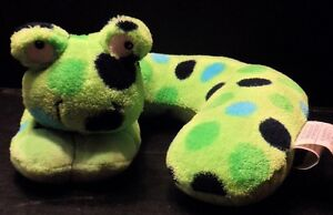 Travel-Pillow-Frog-Toad-Neck-Support-Infant-Baby-Plush-Car-Stroller-Seat