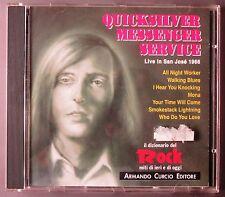 QUICKSILVER MESSENGER SERVICE  - Live in San Josè 1966 - ARMANDO CURCIO EDITORE
