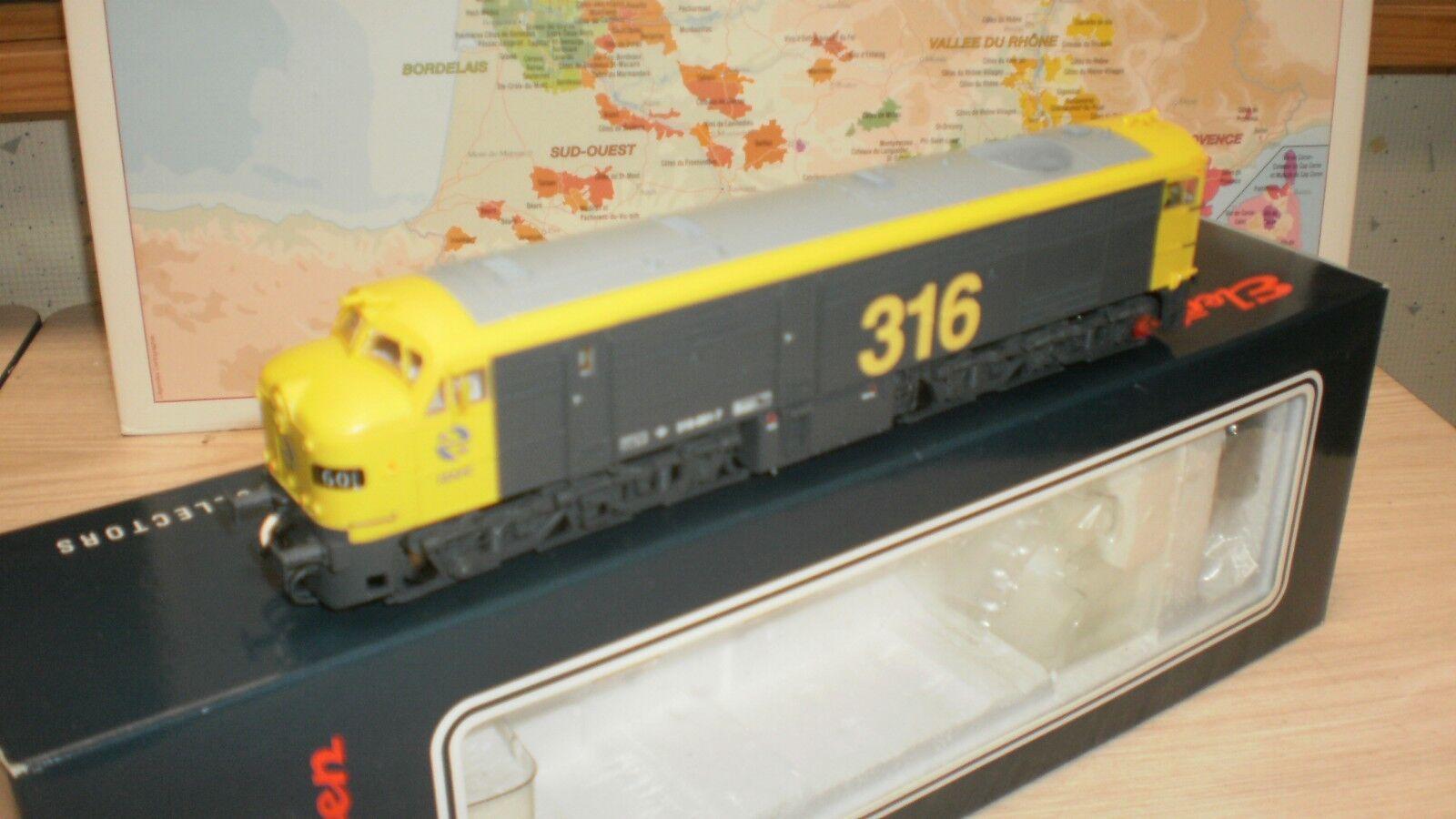 Loco diesel 316 001-7 Renfe électrotren