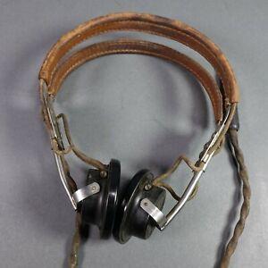U-S-Army-Signal-Corps-Type-R-14-Headset-WM-J-MURDOCK-CO-WWII-AVIATOR