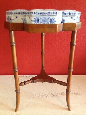 Super Rare Maitland Smith Side Occasional Table Vintage Ceramic Boxes Ebay