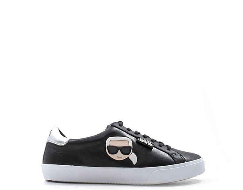 shoes KARL LAGERFELD women SNEAKERS TRENDY  black Pelle naturale naturale naturale KL60120-000 f27f9e